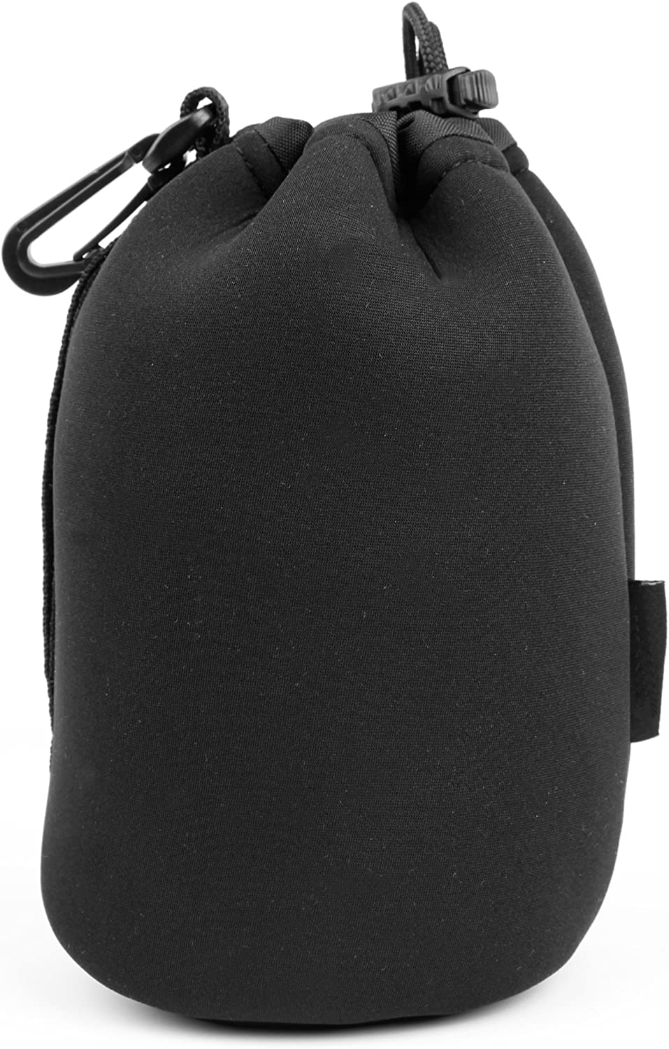 DURAGADGET Large Black Neoprene Padded Carry Case Compatible with Sigma Macro Lenses