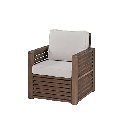 Amazon.com: Home styles barnside SHOREA Madera Accent silla ...