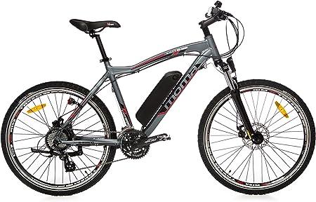 Moma Bikes Bicicleta de Montaña E-MTB-26