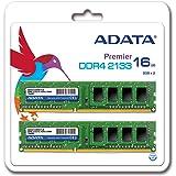 ADATA デスクトップPC用メモリ DDR4-2133 PC4-17000 8GBx2枚組(8GBx2) AD4U2133W8G15-2