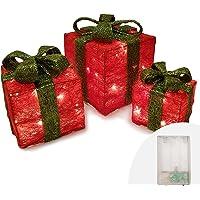 Juego de 3 cajas de regalo Decoración