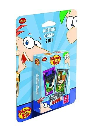 Cartamundi 107553924101 Phineas y Ferb - Juego de cartas de ...