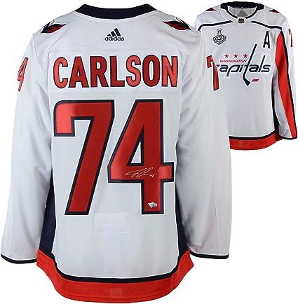sale retailer 094e5 79a75 John Carlson Washington Capitals 2018 Stanley Cup Champions ...