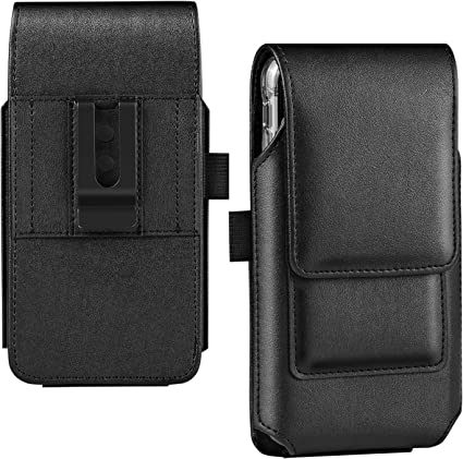 Black Galaxy S10 Holster Case BECPLT Nylon Galaxy S9 Holster Belt Case with Clip//Loops Belt Pouch for Samsung Galaxy S8 Galaxy S7 Edge Google Pixel 4 3 Huawei P30
