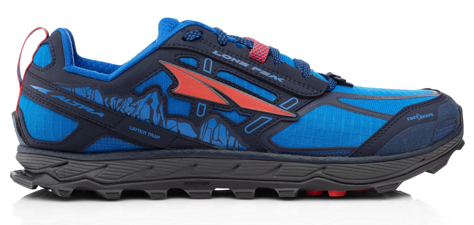 Altra AFM1855F Men's Lone Peak 4.0 Trail Running Shoe, Blue - 7 D(M) US