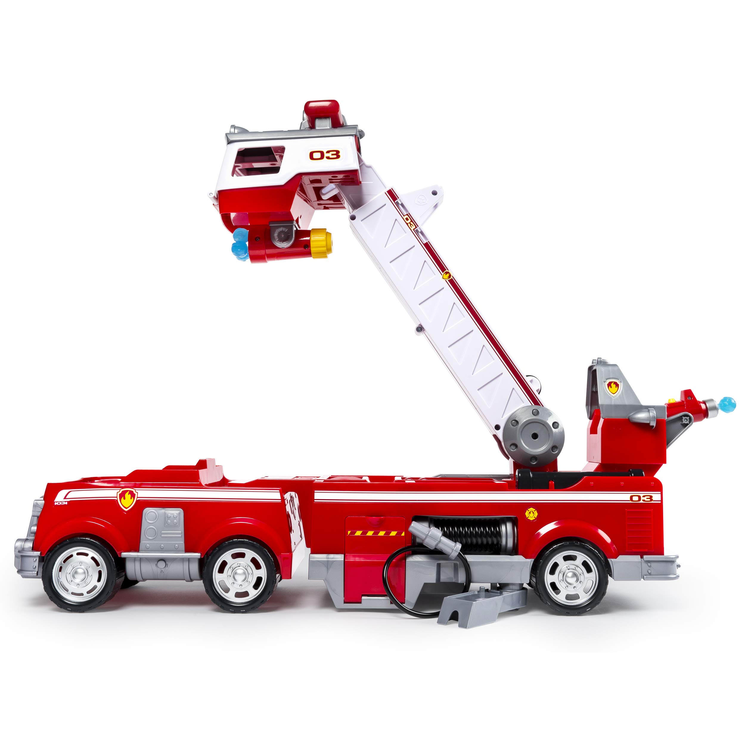 PAW Patrol - Ultimate Rescue Fire Truck with Extendable 2 ft. Tall Ladder, for Ages 3 and Up by Paw Patrol (Image #4)