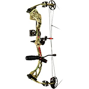 PSE Stinger 3G RTS Package Right Hand Bow, 70-Pound, Mossy Oak Break Up Infinity