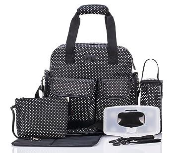 Amazon.com: Bebé de equipaje bolsa de pañales de bebé 3 ...