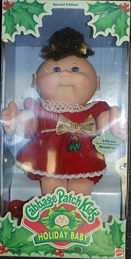 Cabbage patch kids holiday baby special edition 1997 tatiana.