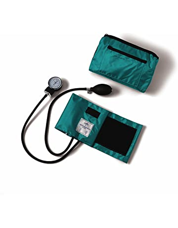 Medline Compli-Mates Aneroid Sphygmomanometer Kit with Carrying Case, Adult Blood Pressure Cuff,