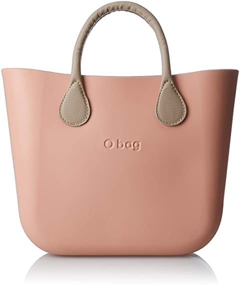 O Bag B002, bolso de mano para mujer, Rosa (phard), 11