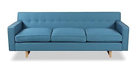 Wondrous Kardiel Kennedy Mid Century Modern Classic Sofa Urban Surf Vintage Twill Gamerscity Chair Design For Home Gamerscityorg