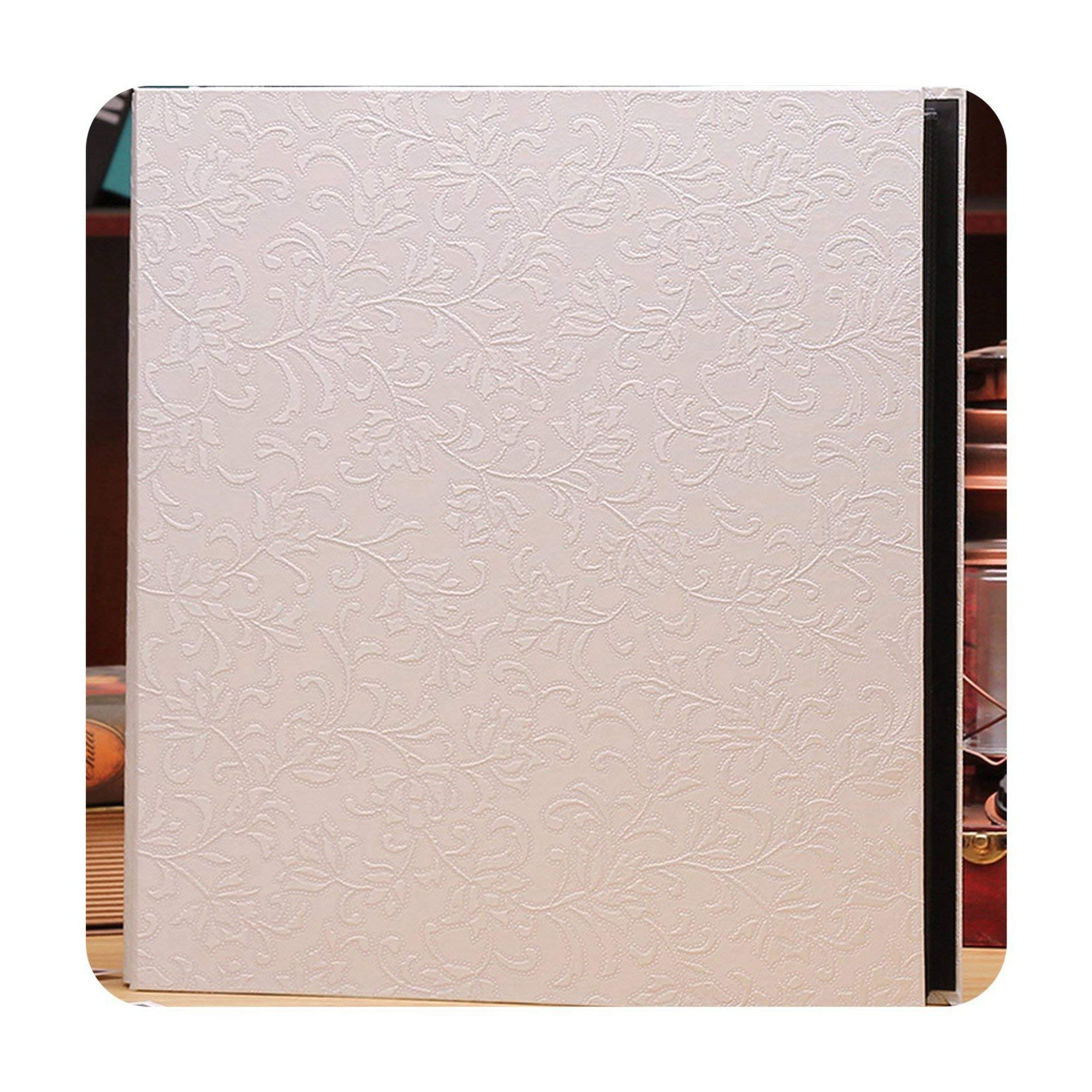 foosheeonzi 6 Inch 800 Plastic Pockets Photo Album Family Insert Large Capacity Leather Cover Gallery Family Memory Record Scrapbook Album,3