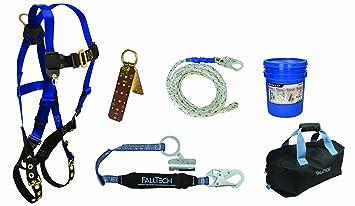 Falltech 8595ra Arnés de contratista con kit de techador y bolsa ...