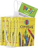 Crayons Party Bag Fillers, Pack of 6