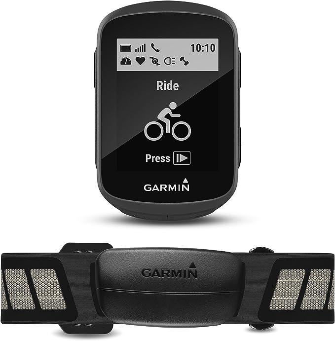 Garmin Edge 130 Pack GPS, Adultos Unisex, Negro, Talla Única: Amazon.es: Deportes y aire libre
