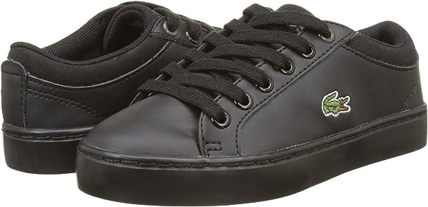 Lacoste Straightset BL 1 SPC, Zapatillas Unisex niños, Negro (Blk), 34 EU: Amazon.es: Zapatos y complementos