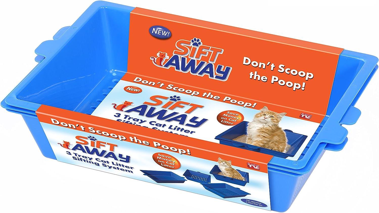Sift Away Sa-Mc6 Pet Litter, Blue: Pet Supplies