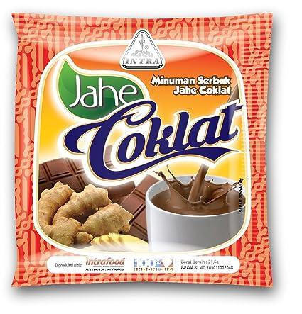 a47ee46b4 Intra Jahe Coklat (Té de jengibre con chocolate), 21,5 gramos (10 ...
