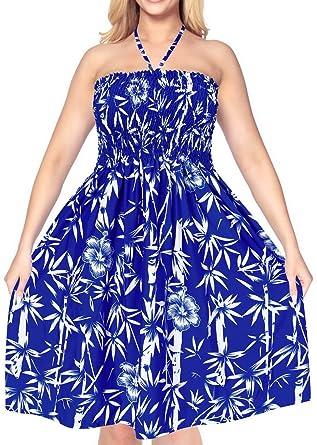 midi verschleiern blau maxi aloha Frauen sundress Rockschlauch ...