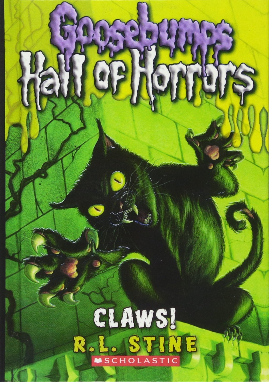 Download Claws! (Turtleback School & Library Binding Edition) (Goosebumps Hall of Horrors) PDF