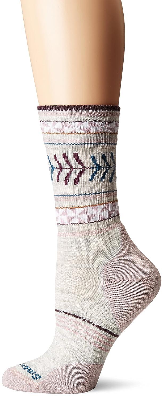 Smartwool Women's PhD Outdoor Light Pattern Crew Socks (Ash) Large SW000767-069-L