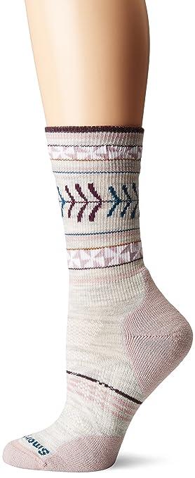 Amazon smartwool womens phd outdoor light pattern crew socks smartwool womens phd outdoor light pattern crew socks ash small aloadofball Image collections