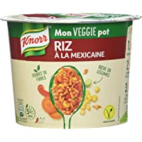 Knorr Mon Veggie Pot Riz à La Mexicaine 65 g - Lot de 3