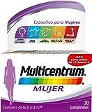 Multicentrum Mujer, Complemento Alimenticio con 13 Vitaminas y 11 Minerales, para Mujeres a partir de 18 años - 30…