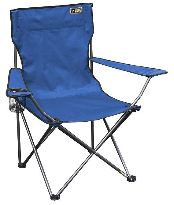 Quik Shade Quik Chair Folding Quad Camp Chair.