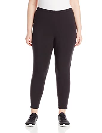 3ffd44f7da7 Just My Size Women s Plus-Size Stretch Jersey Legging at Amazon ...