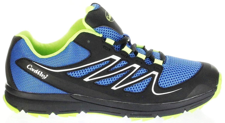 ConWay Sportschuhe Blau Leichte Herren/Damen Outdoor Schuhe Sidney, Farbe:Blau, Größe:41