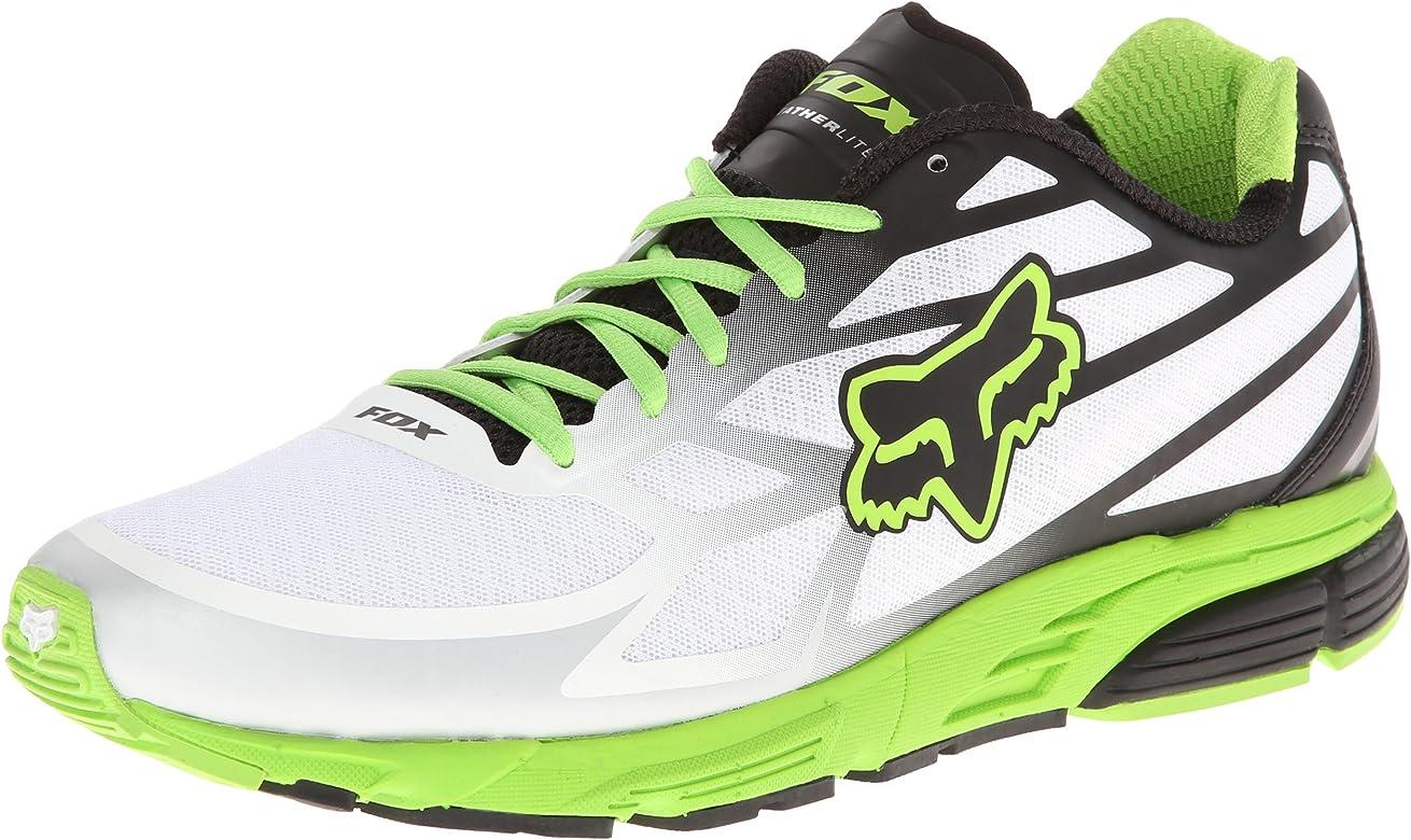 Fox - Zapatillas de running para hombre, color blanco, talla 45: Amazon.es: Zapatos y complementos