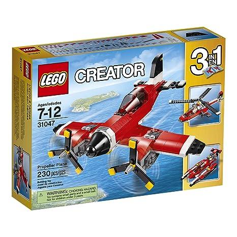 Amazon Lego Creator Propeller Plane 31047 Building Toy Vehicle