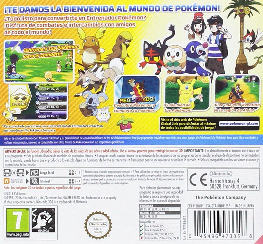 Pokemon Luna Nintendo 3ds Nintendo Amazones Videojuegos - muda vs ora roblox id code