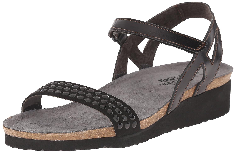 NAOT Women's Lexi Wedge Sandal B010AHDHPM 36 M EU / 5 B(M) US|Black Combo