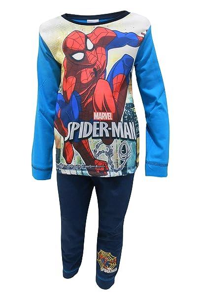 Spiderman Marvel Pijama niño clásico 18-24 Meses (92cm)