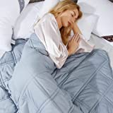 """Winthome Adult Weighted Blanket with Cover (55""""x75"""" 16lbs)