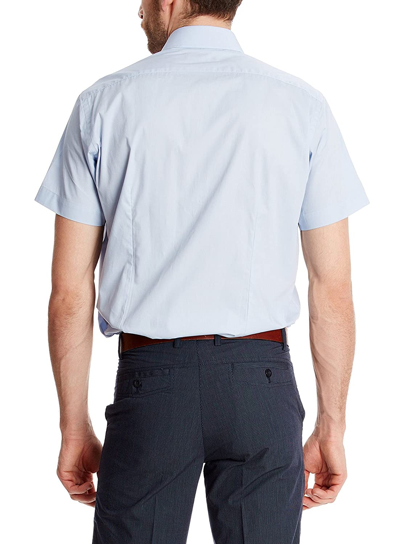 Macson Camisa Hombre Azul M: Amazon.es: Ropa y accesorios