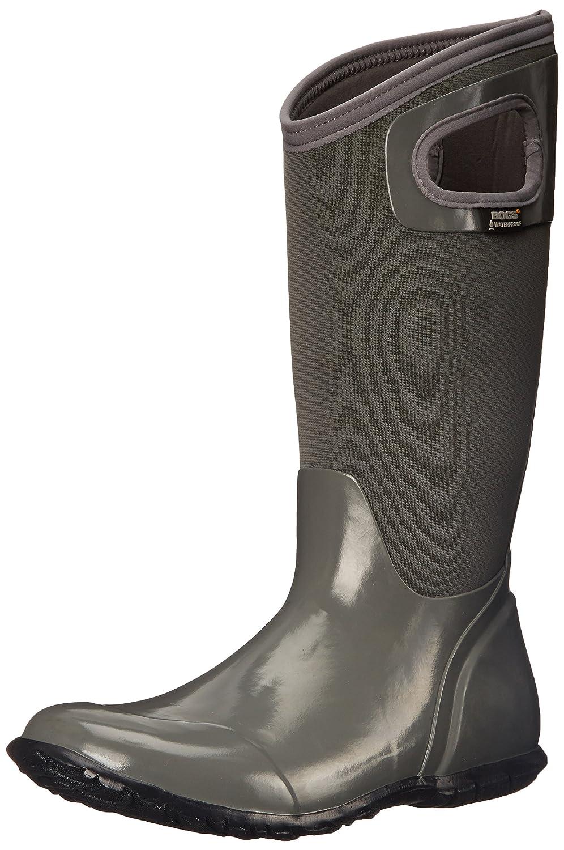 BogsHampton - Botas de agua de trabajo mujer gris