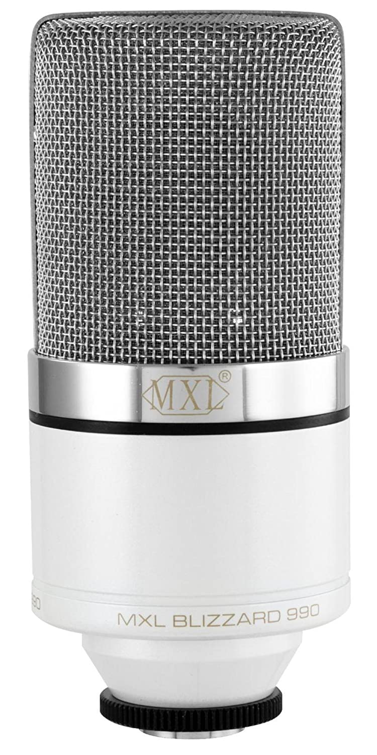 Amazon.com: MXL 990 Blizzard Limited Edition Condenser Microphone ...