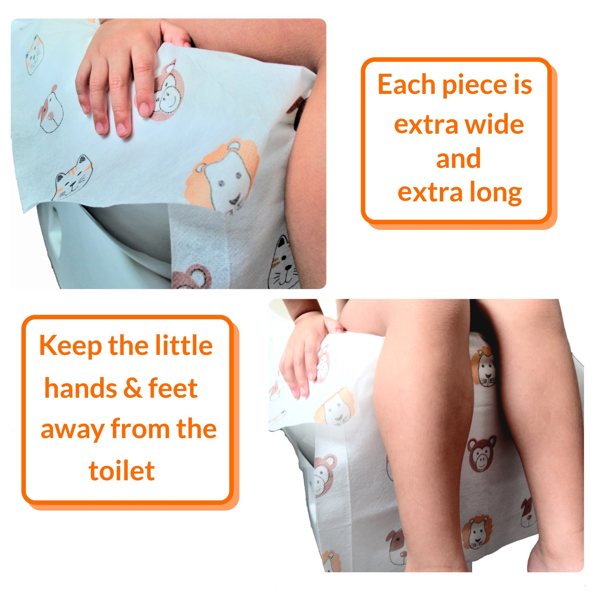Disposable Toilet Seat Covers Extra Large Size Perfect