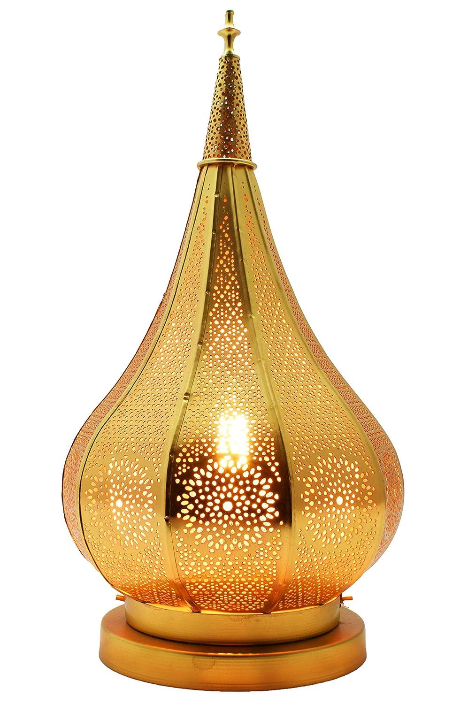 Orientalische Marokkanische Tischlampe Lampe Leuchte Tischleuchte Nachttischlampe Laterne Kais Schwarz