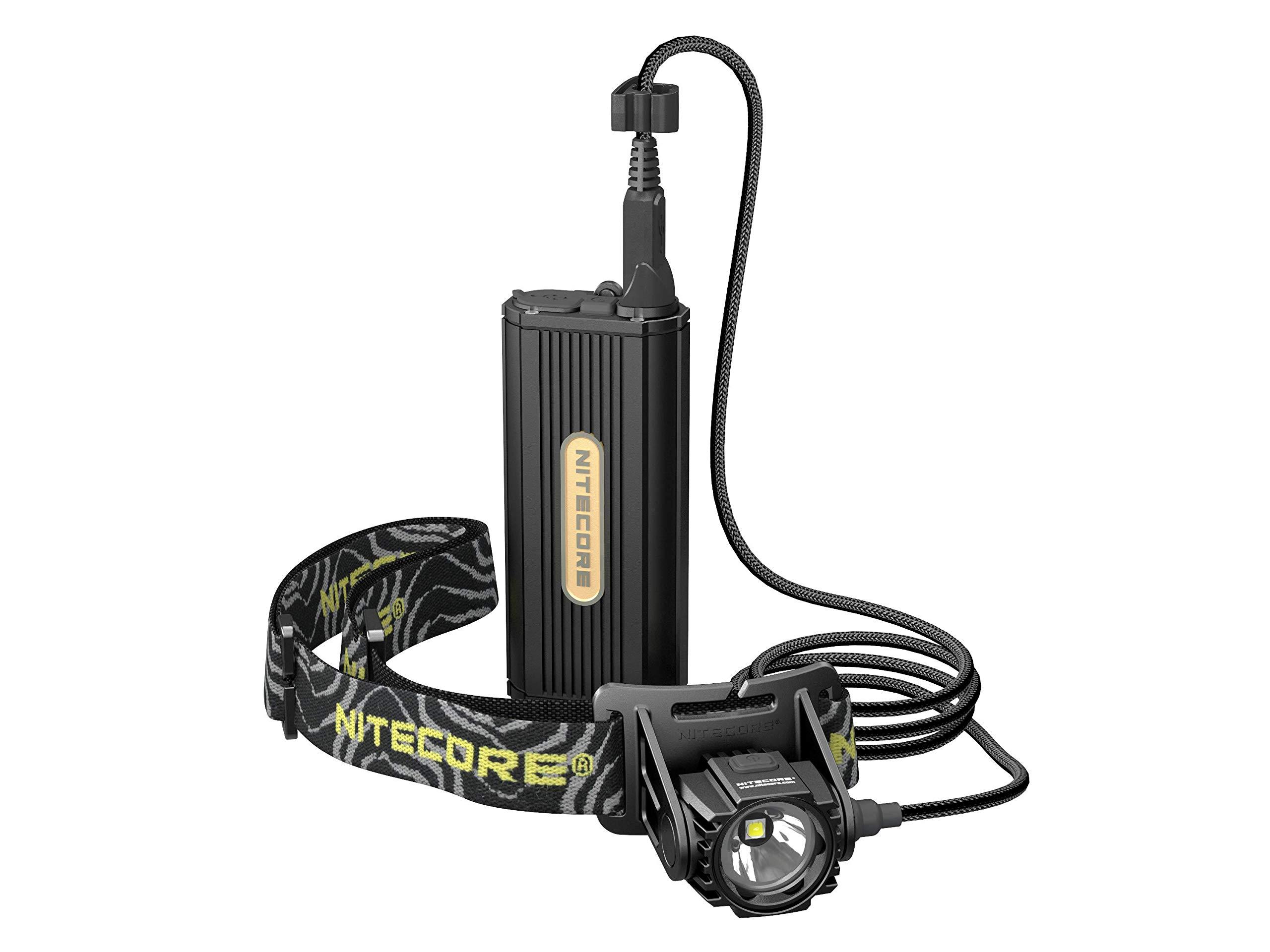 Linternas : Nitecore Hc70 1000 Lumen C/ Battery Pack Ext