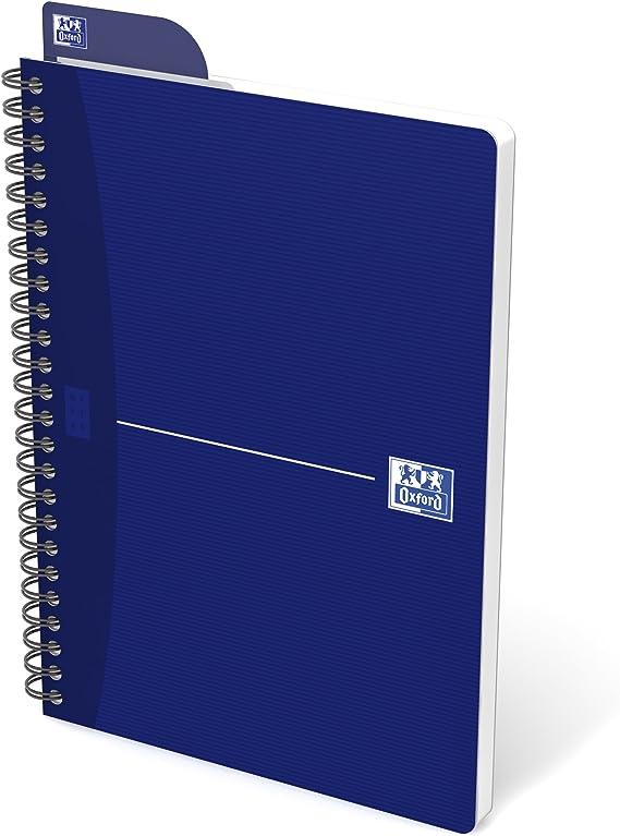 Oxford Essentials - Lote de 5 cuadernos de espiral, cuadros ...