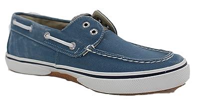 Sperry Bahama Turquoise Canvas Bootsschuhe Segelschuhe Sneaker Damen (40) bvcUT4Uxp