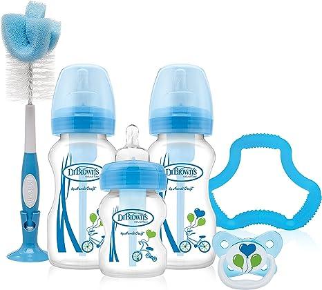 Dr Browns Options Baby Bottles Gift Set Blue