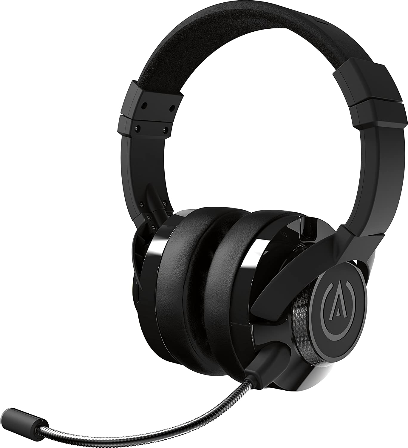 PowerA Fusion Auriculares Gaming con Micrófono Desmontable y Cable - Compatibles con PlayStation 4, Xbox (One, One X, One S, 360), Nintendo Switch, Mac, Android, IOS - Negro
