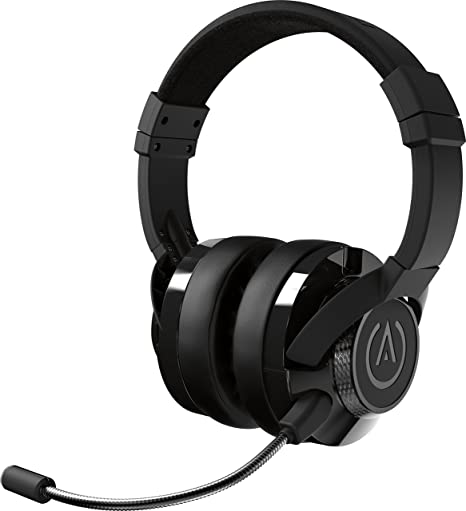 PowerA Fusion Auriculares Gaming con Micrófono Desmontable y Cable - Compatibles con PlayStation 4, Xbox (One, One X, One S, 360), Nintendo Switch, Mac, Android, IOS - Negro: Amazon.es: Videojuegos