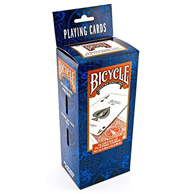 Bicycle Standard Index Playing Cards, 12 Pack: Sports & Outdoors